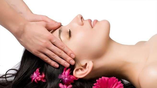 masaje relajante cabeza