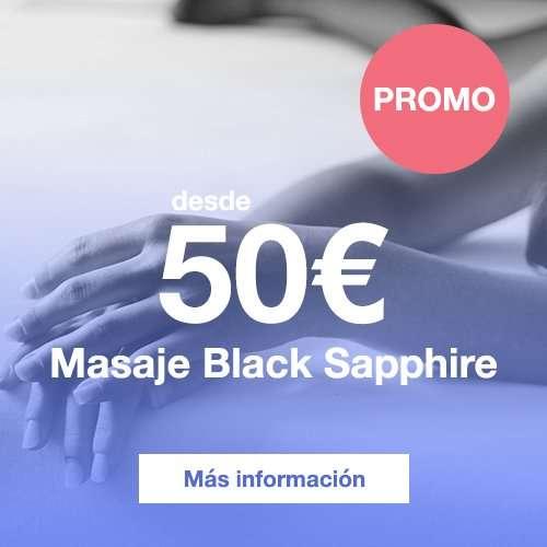 Prueba ahora el sensual masaje Black Sapphire desde 50 euros.