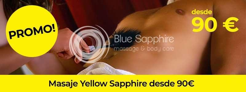 Promo masaje yellow sapphire