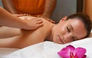 masaje a cuatro manos